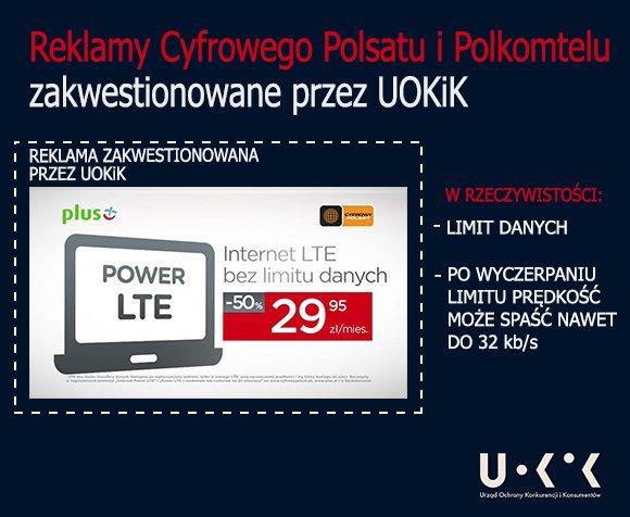 UOKiK Plus LTE bez limitu
