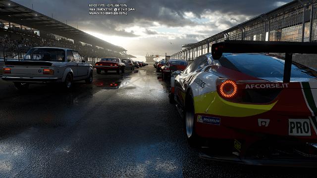 Forza Motorsport Project Scorpio 4K