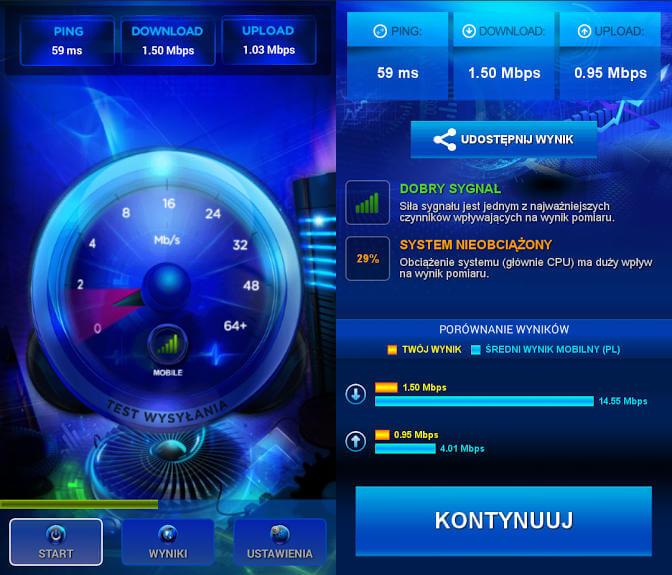 SpeedTest Play roaming