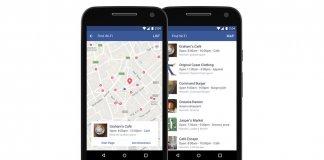Facebook Znajdź Wi-Fi
