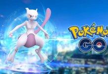 Mewtwo Pokemon GO