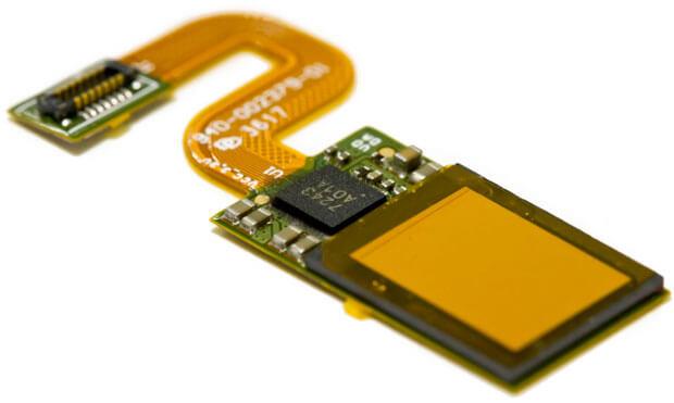 Czytnik linii papilarnych Synaptics Clear ID FS9500