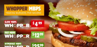 Burger King Whopper neutrality