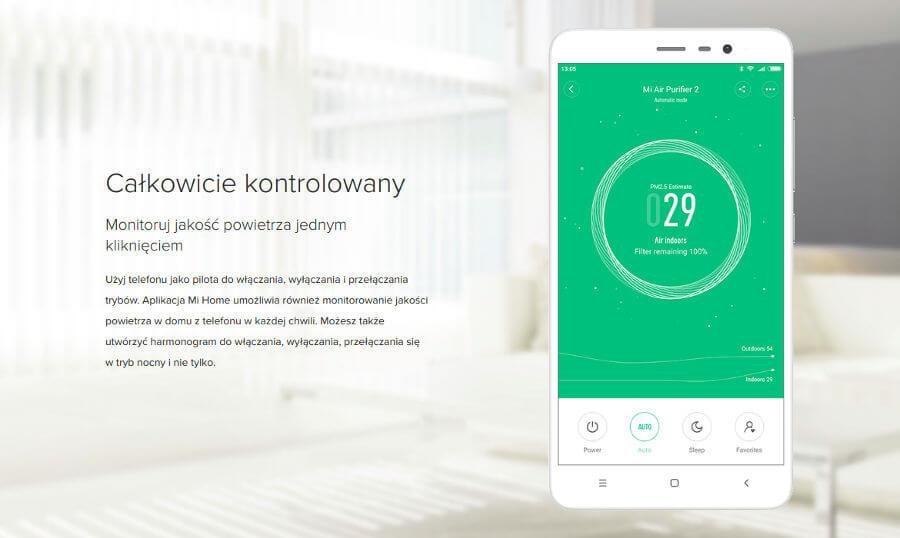 Mi Air Purifier 2 aplikacja