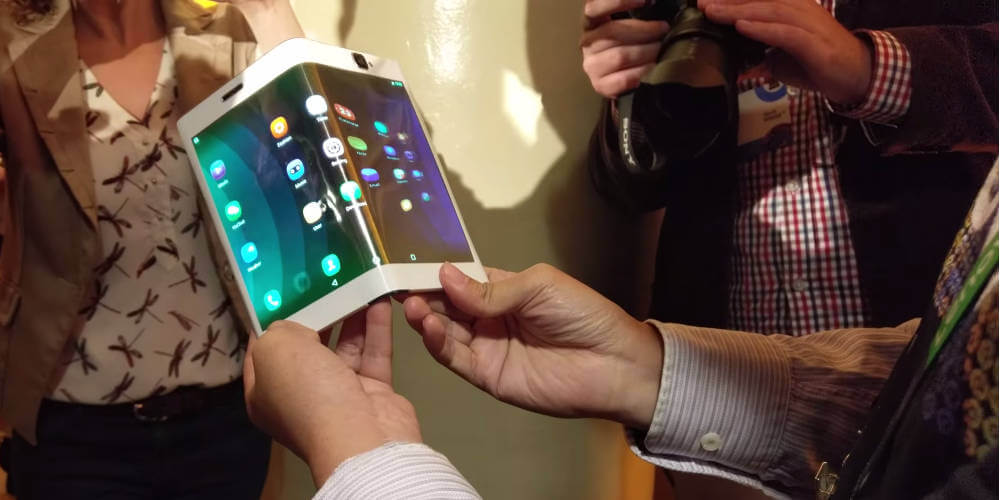 Lenovo zginany tablet