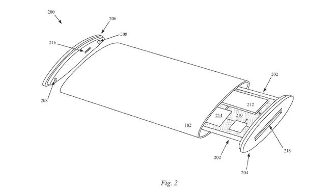 (fot. APPLE/UNITED STATES PATENT AND TRADEMARK OFFICE)