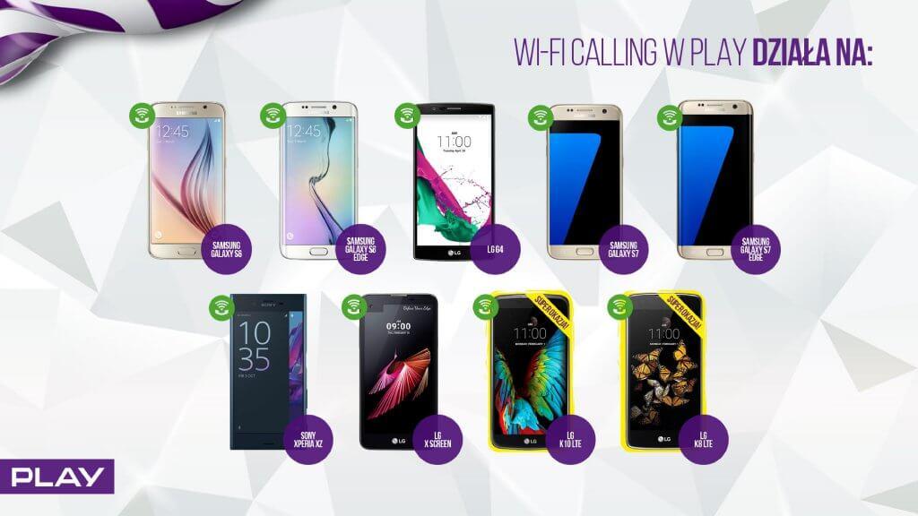 Play Wi-Fi Calling telefony