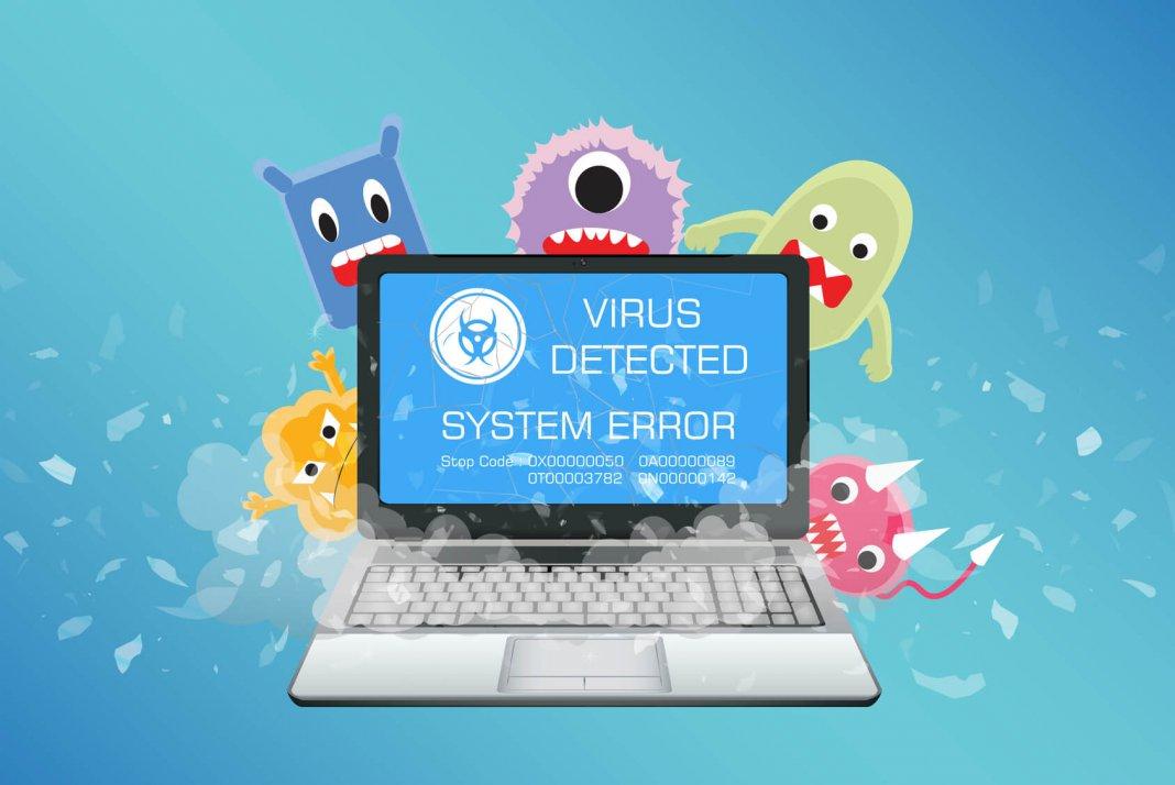 wirus, malware, separ