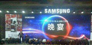 Samsung na kolanach