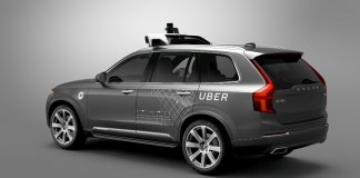 Uber Volvo autonomiczny samochod