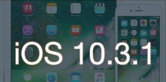 iOS 10.3.1 aktualizacja