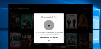 Netflix offline Windows 10
