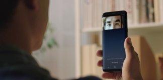Samsung Galaxy S8 skaner tęczówki