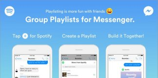 spotify, messenger, spotify chat, imusic, grupowe playlisty
