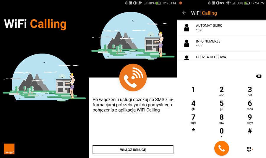 Wi-Fi Calling aplikacja
