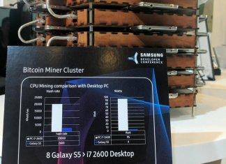 Samsung Galaxy BitCoin