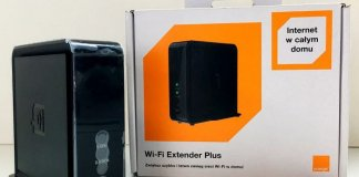 Wi-Fi Extender Plus Orange