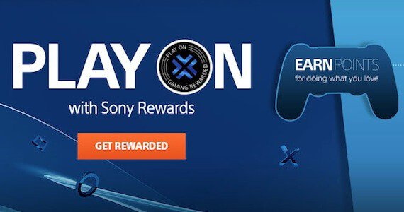 Sony PlayStation Rewards
