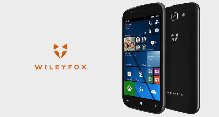 Wileyfox Pro Windows 10 Mobile
