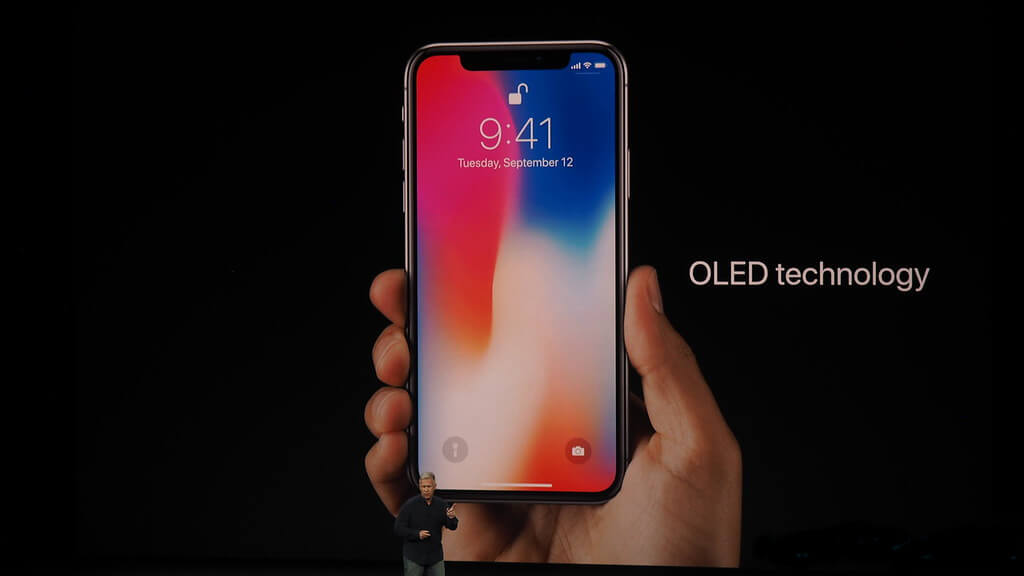 iPhone X OLED