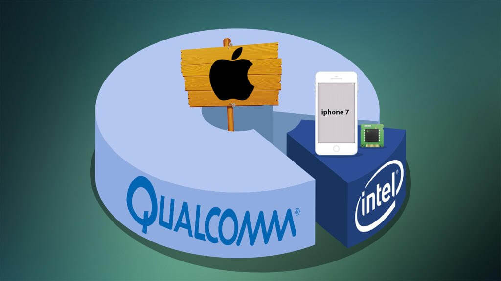 Qualcomm Intel Apple