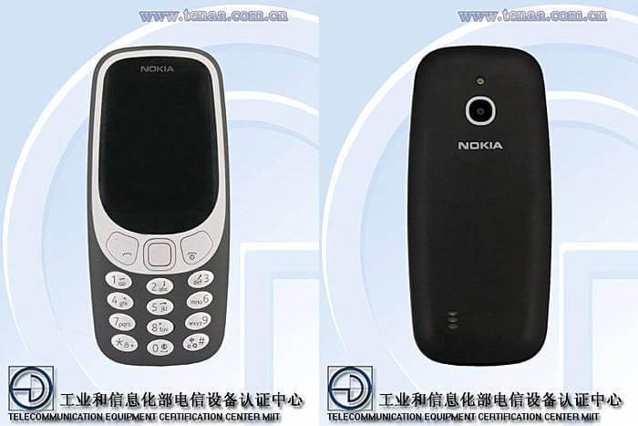Nokia 3310 4G TENNA