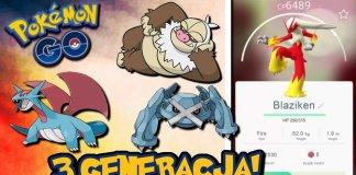 Pokemon Go 3 generacja
