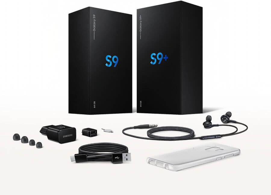 Galaxy S9 box