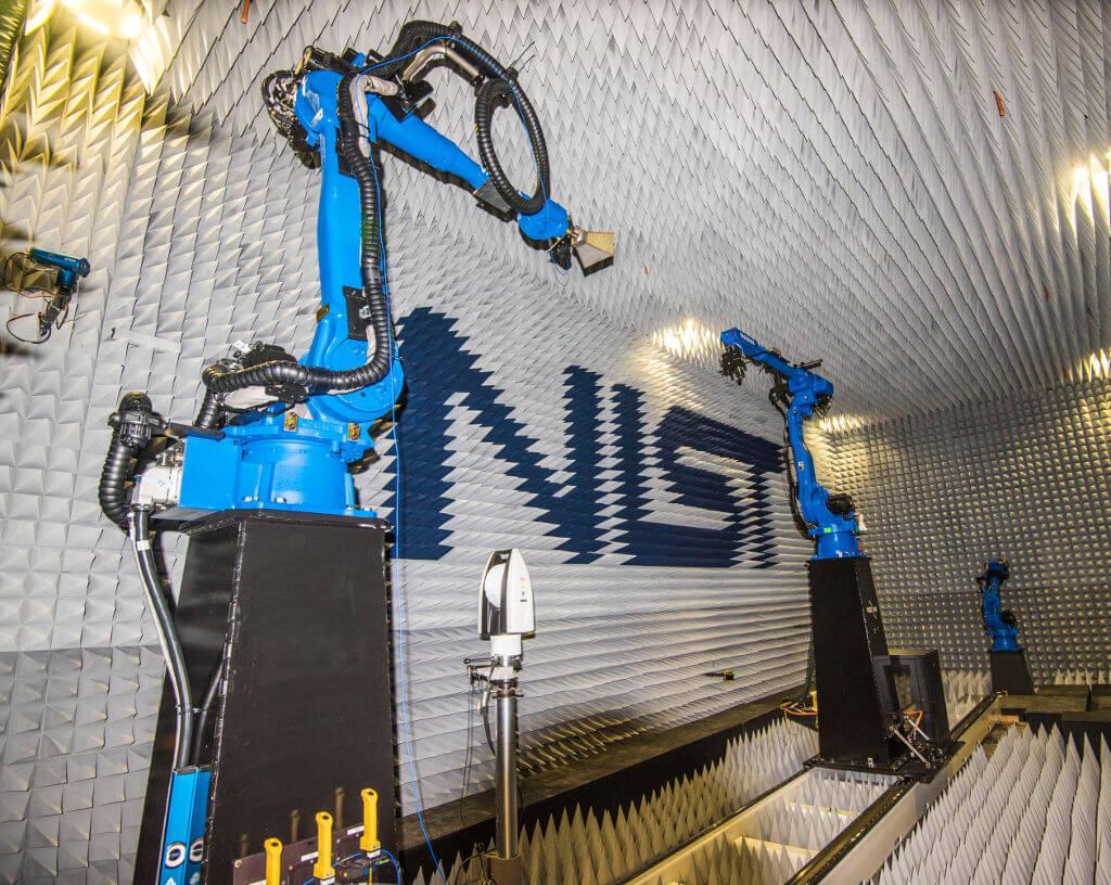 NIST anteny