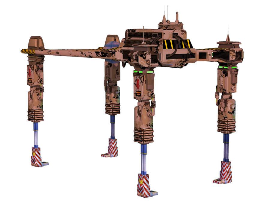 dron wojskowy