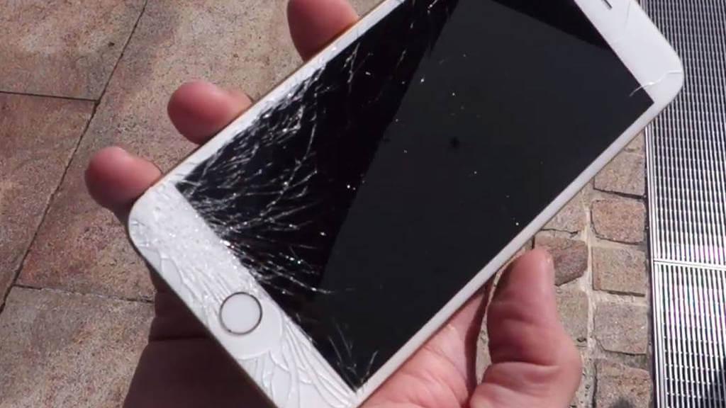 iPhone uszkodzony ekran