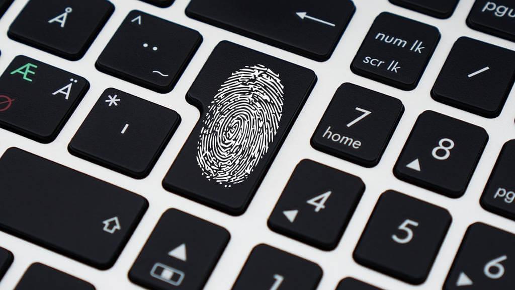 odcisk palca Web Authentication