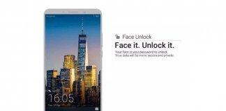 Huawei Face Unlock
