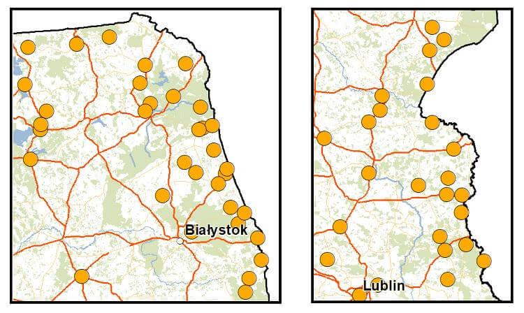 Orange stacje bazowe 4G przy granicy z Białorusią
