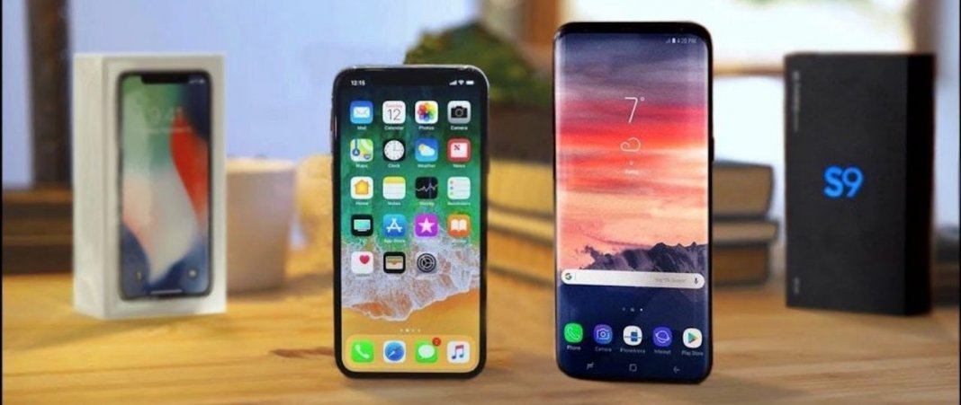 samsung, galaxy, s9, iphone, X, apple, aparat,