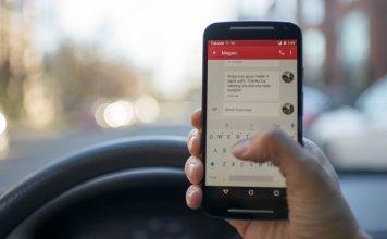 smartfon kierowca