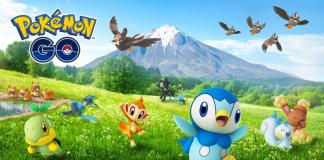 4 generacja, pokemon go, nintic, sinnoh