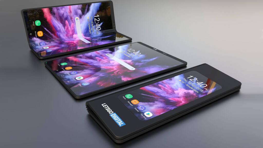 Samsung składany smartfon