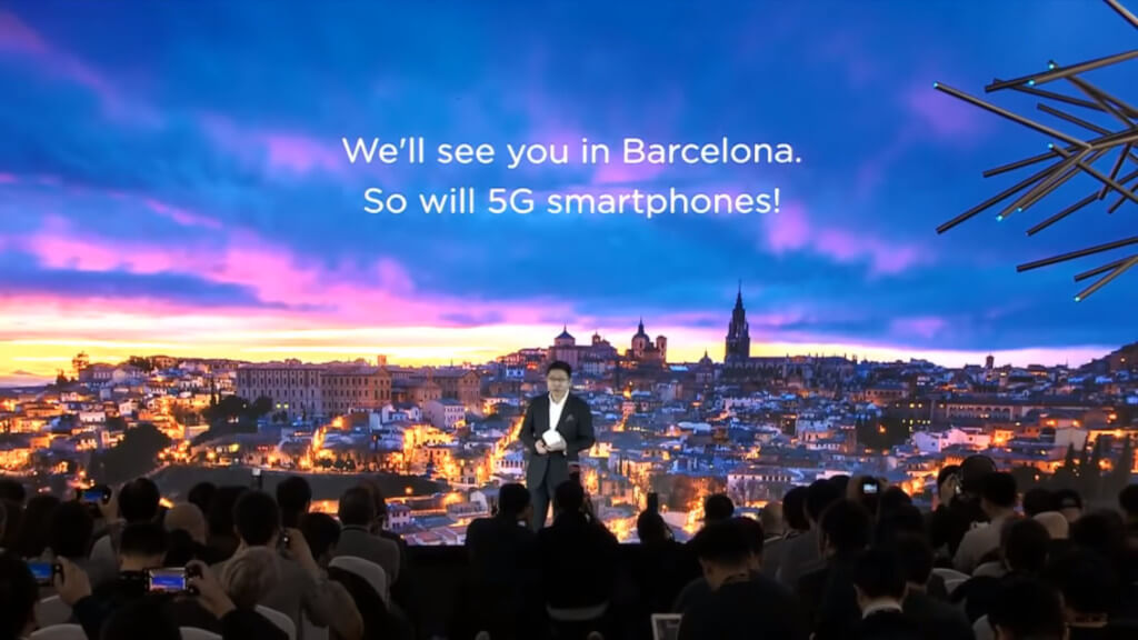 Huawei 5G Barcelona