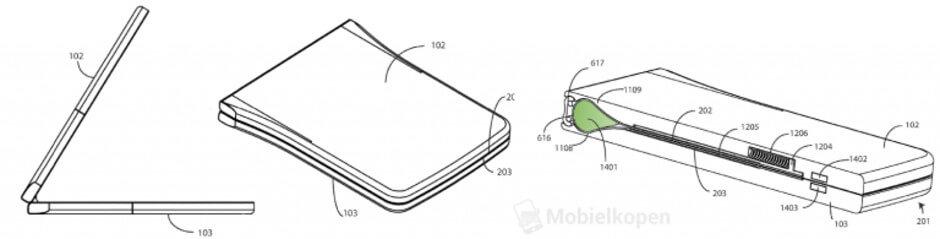 Motorola RAZR patent