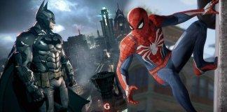 Batman Spiderman 5G
