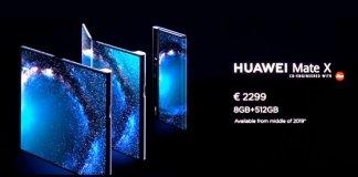 Huawei Mate X cena