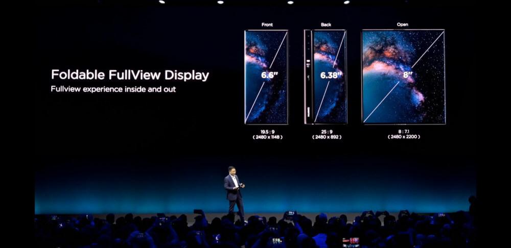 Huawei Mate X ekran