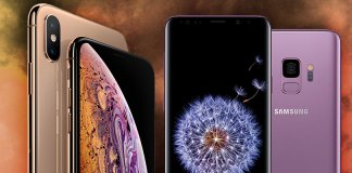 samsung galaxy s10 plus, iphone xs max, samsung, apple, google, ios, android