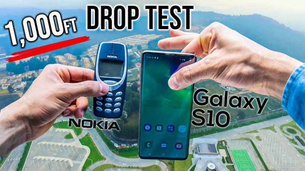 Nokia 3310 vs Galaxy S10