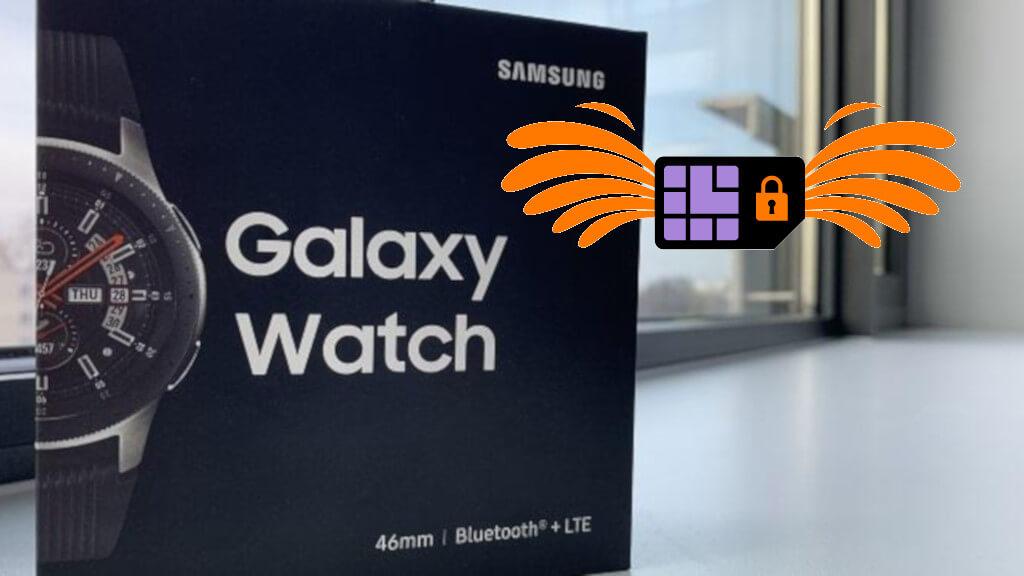Orange eSIM Galaxy Watch