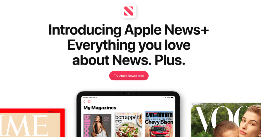 apple, news+, ios12.2, cupertino, air play 2, iphone, ipod, ipad, macos