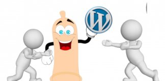 wordpress, cms, wirusy