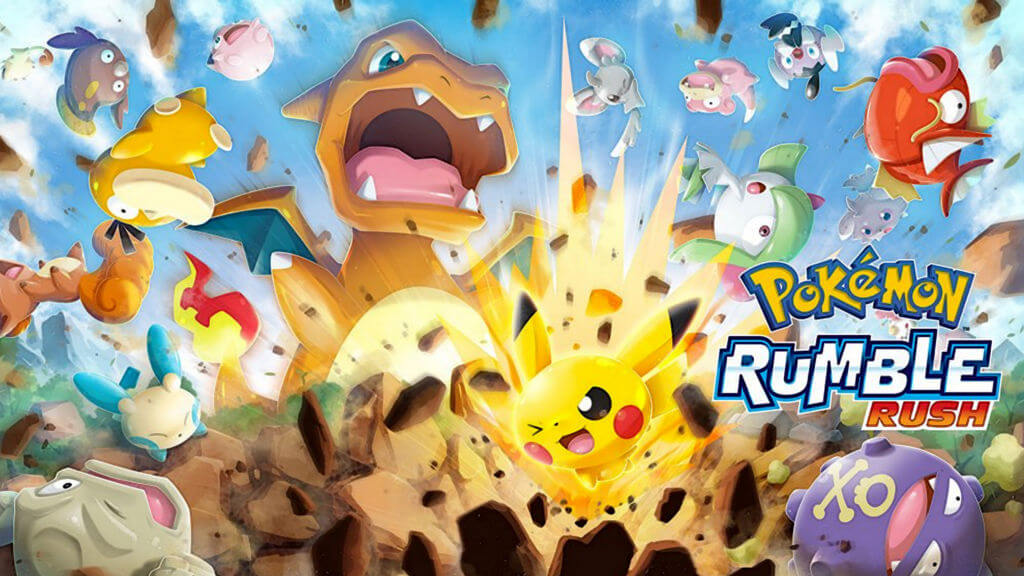 Nintendo Pokémon Rumble Rush