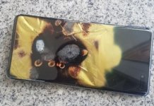 Samsung Galaxy S10 5G samozapłon